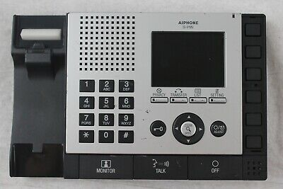 Aiphone IS-IPMV IP Video Intercom Master Station (Base Only)