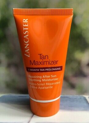 Lancaster Tan Maximizer Soothing Moisturiser Repairing After Sun 50ml *FAST POST