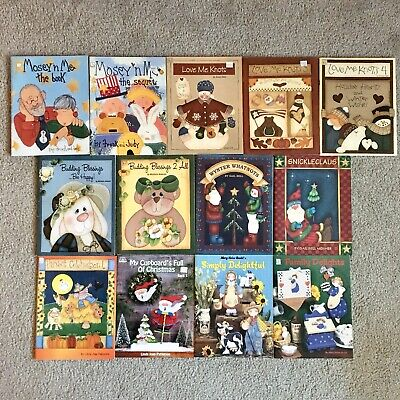 Lot of 28 Tole Painting Books by Various Artists