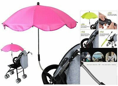 Baby Kids Stroller Buggy Umbrella Parasol UV Sun Shade Pram Pushchair Universal