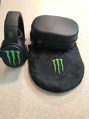 Skullcandy Crusher Wireless 360 Headphones MONSTER ENERGY EDITION