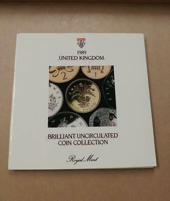 1989 United Kingdom Brilliant Uncirculated Coin Collection - Royal Mint, 7 Coins