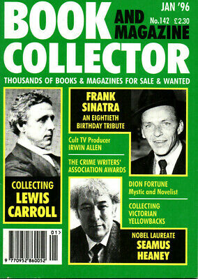Book and Magazine Collector No.142 Jan 1996: LEWIS CARROLL, SEAMUS HEANEY
