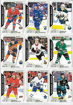 2018-19 O-Pee-Chee Update Complete set #601 to #650 w/ Rookies