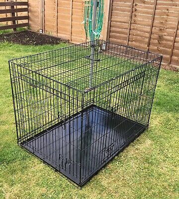 Extra Large Dog Puppy Pet Cage Folding Carrier Crate