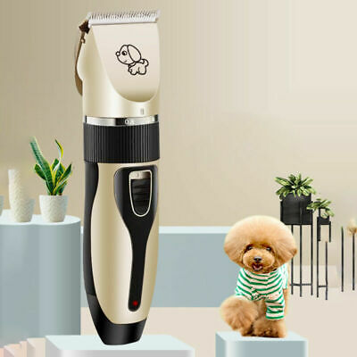 Professional Dog Clippers Cordless Pet Clipper Hair Shaver Grooming Trimmer Kit