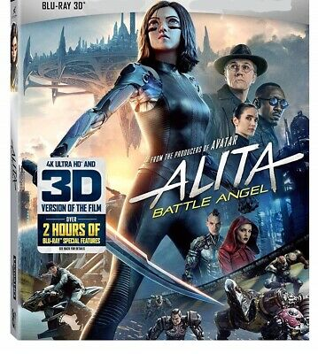Alita: Battle Angel (Bluray 3D Only No Case Or Artwork, 2019) SEE LISTING DETAIL