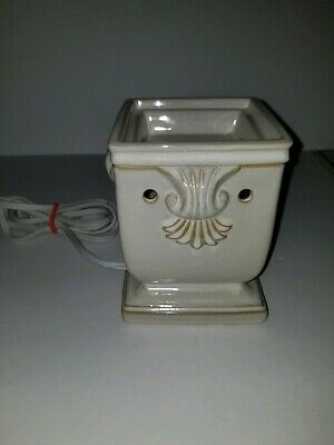 Scentsy Windsor Full Size Warmer Retired Discontinued Rare Scentsy Wax Warmer