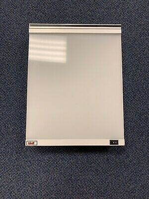 """Wolf X-Ray Light Box 2 Bulb 14"""" X 16"""" TESTED WORKING (Hardwire)"""