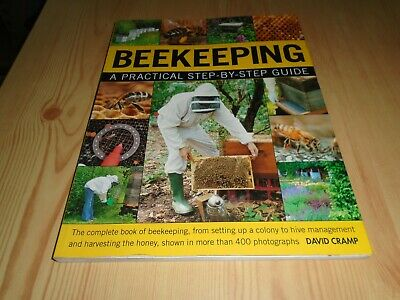 Beekeeping  Book - Step By Step Techniques, Hives, Bees, Honey, Health, Queen