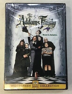 The Addams Family Widescreen Dvd 1991  Rated Pg-13 New Sealed