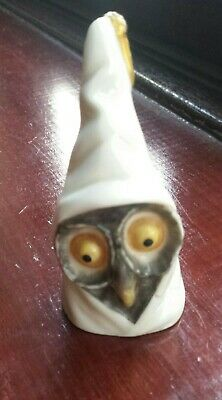 Very Early Antique Worcester Snuffer Owl For Restoration L@@K