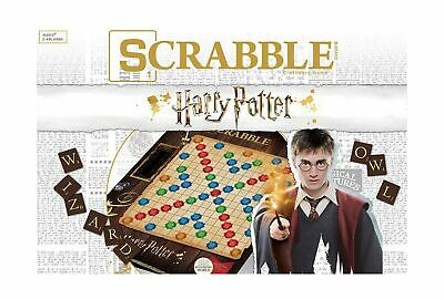 Scrabble World of Harry Potter Board Game | Official Scrabble Word Game Featu...