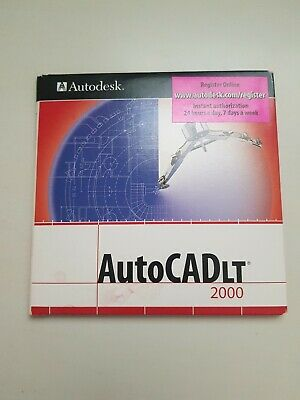 AutoCAD AutoCadLT 2000 Software See Photos