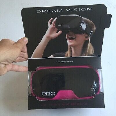 Tzumi Dream Vision PRO Virtual Reality Smartphone Headset, Pink, NEW in BOX