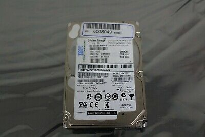 Ibm 81Y9893 900Gb 10K 6G Sff Sas 2.5'' Hdd 81Y9915 81Y9918 Ehd Ds3524 & Exp3524