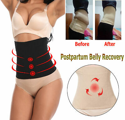 Postpartum Girdle Recovery Belt Support Belly Wrap Band Body Shaper for Women UK