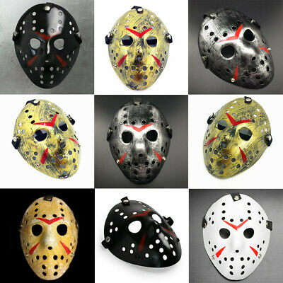Friday the 13th Freddy VS. Jason Voorhees Hockey Scary Mask Halloween Costume