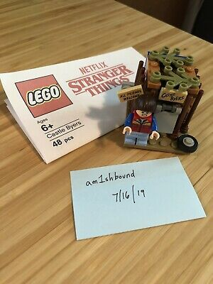 LEGO - Castle Byers Stranger Things Mini Build With Will Byers Fig From 75810