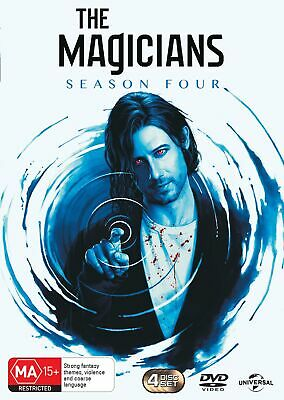 The Magicians Season Four Box Set DVD Region 4 NEW