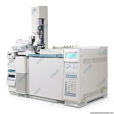 Refurbished Agilent 6890N GC and 5973N MSD Performance Turbo w 7683 Autosampler