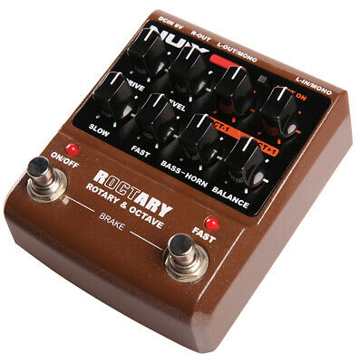 Nux ROCTARY Simulator & Polyphonic Octave Effects Pedal