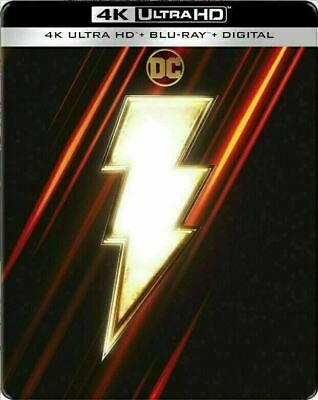 Shazam! - Limited Edition Steelbook [4K Ultra HD + Blu-ray] New And Sealed!!