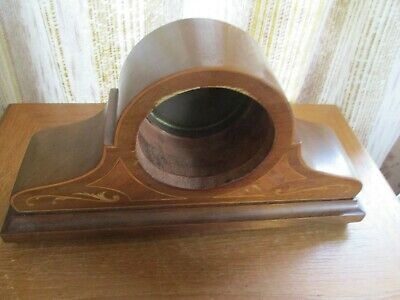 antique  oak cased napolian hat mantle  clock shell/antique french clock