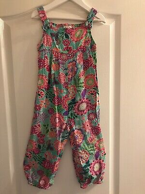 Monsoon Girls Funky Floral Bright Playsuit 2 - 3