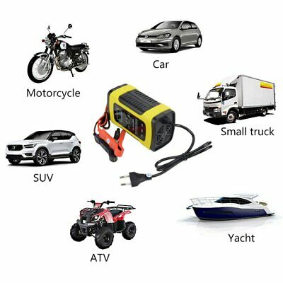 Car Motorcycle Battery Charger for Auto Moto Lead-Acid Smart Charging