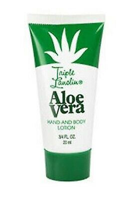 Triple Lanolin Hand and Body Lotion 20ml ~ ALOE VERA ~