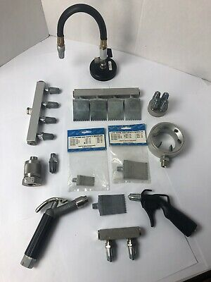 """Silvent Pneumatic Flat Cleaning Knives And Nozzles NPT 1/8"""" NPT 1/4"""" 703 A"""