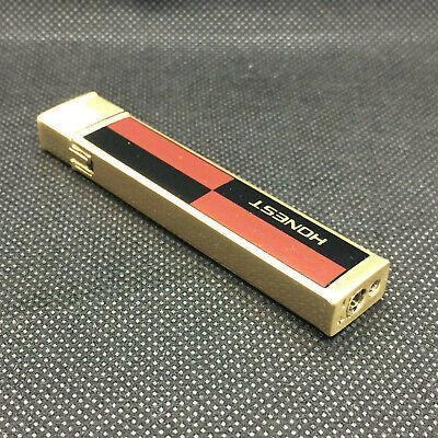 Retro Style Lighter High Quality Solid Metal Gas With Gift Box