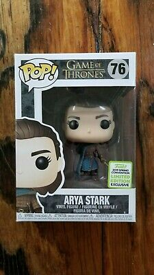 POP! Game of Thrones - Arya Stark Assassin - 2019 Spring Convention Exclusive