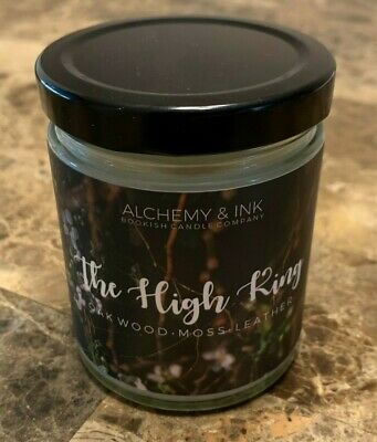 NEW Alchemy & Ink The High King Candle Cruel Prince Wicked King Owlcrate