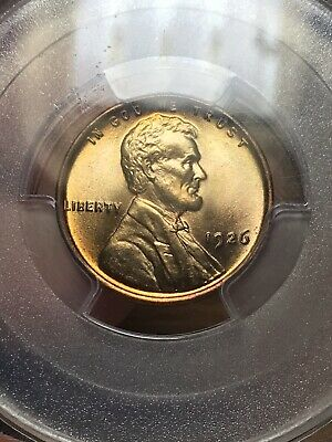 1926 PCGS Lincoln Cent Wheat Penny, MS 67 RD Red ** Blazer Must Sell