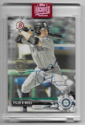 """2019 Topps Archives Signature Tyler O""""Neill Auto Rookie 2017 Bowman Mariner #/99"""