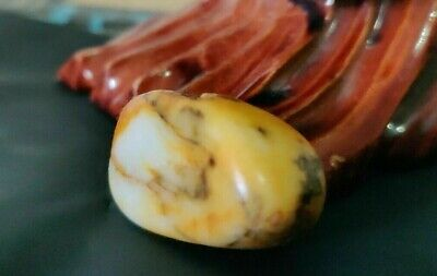 natural original xinjiang hetian jade pebble Chinese nephrite specimen 20 grams