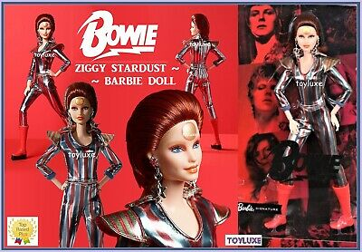 Barbie DAVID BOWIE Doll (in Hand) Limited Edition ZIGGY STARDUST Gold Label NEW!
