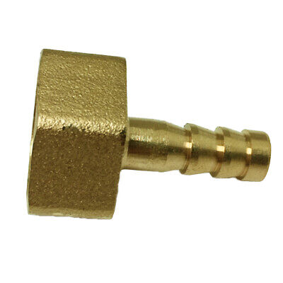 "1/2"" Female Male Thread Hose Connector 6-19mm Brass Pagoda Water Connectors"