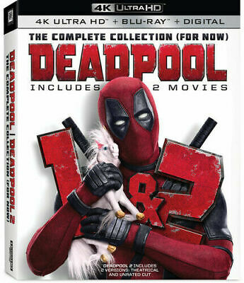 Deadpool : Complete Collection (4K+Blu-Ray+Digital) NEW
