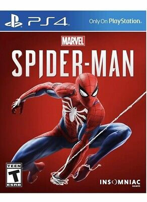 Marvel Spider-Man [Sony PlayStation 4, 2018, PS4 ] - Brand New Sealed
