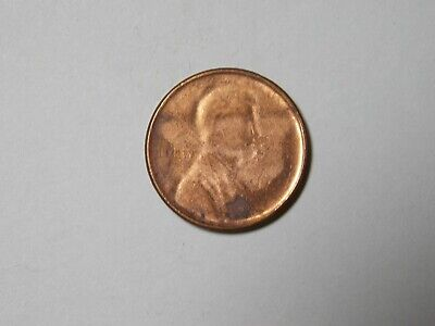 1983 P Lincoln Memorial Cent Penny Struck Through Capped Die Mint Error BU Unc