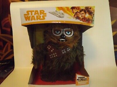 "SCS Disney Star Wars Solo Movie Chewbacca Walk N' Roar 12"" Plush Toy Collectible"