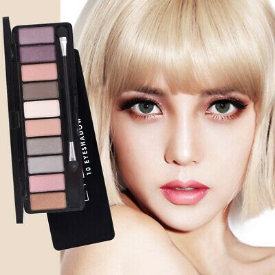 10 Colors Naked Nude Eye Shadow Palette Eyeshadow Shade Makeup Cosmetic