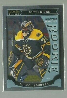 2015-16 O-Pee-Chee Platinum Marquee Rookies #M5 Malcolm Subban (ref 60092)