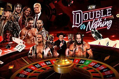 AEW Double Or Nothing 2 Disc DVD Set With The Buy In All Elite Wrestling