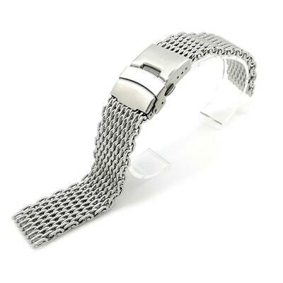 Stainless Steel Dive Shark Mesh Milanese Watch Bracelet Strap Band 18/20/22/24mm