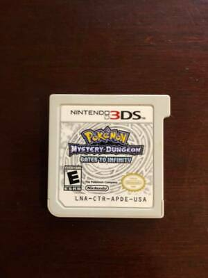 Pokemon Mystery Dungeon: Gates to Infinity (Nintendo 3DS, 2013) - CART ONLY
