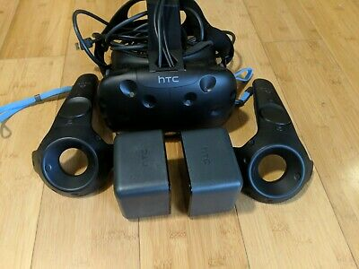 HTC Vive Virtual Reality Full Kit (round cable)